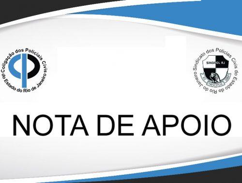 COLPOL carta de apoio