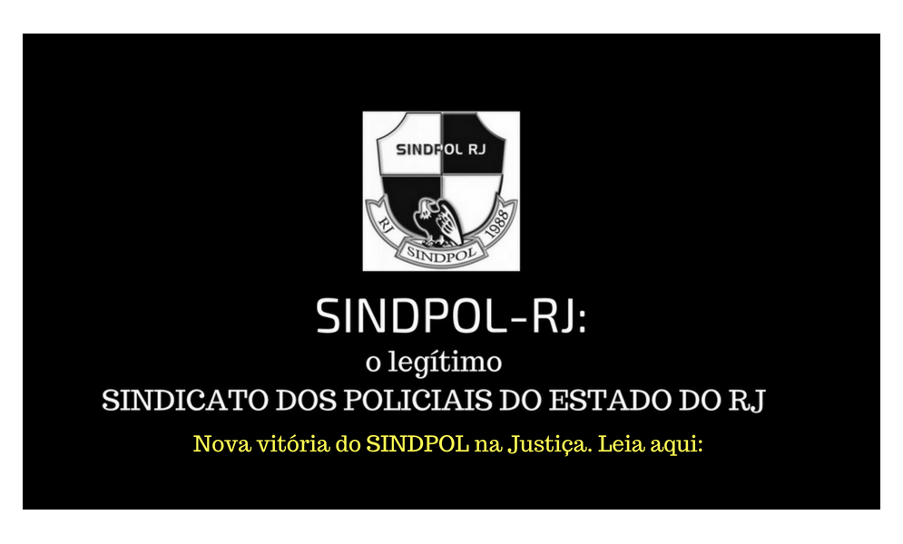 Nova vitória do SINDPOL na Justiça. Leia aqui_
