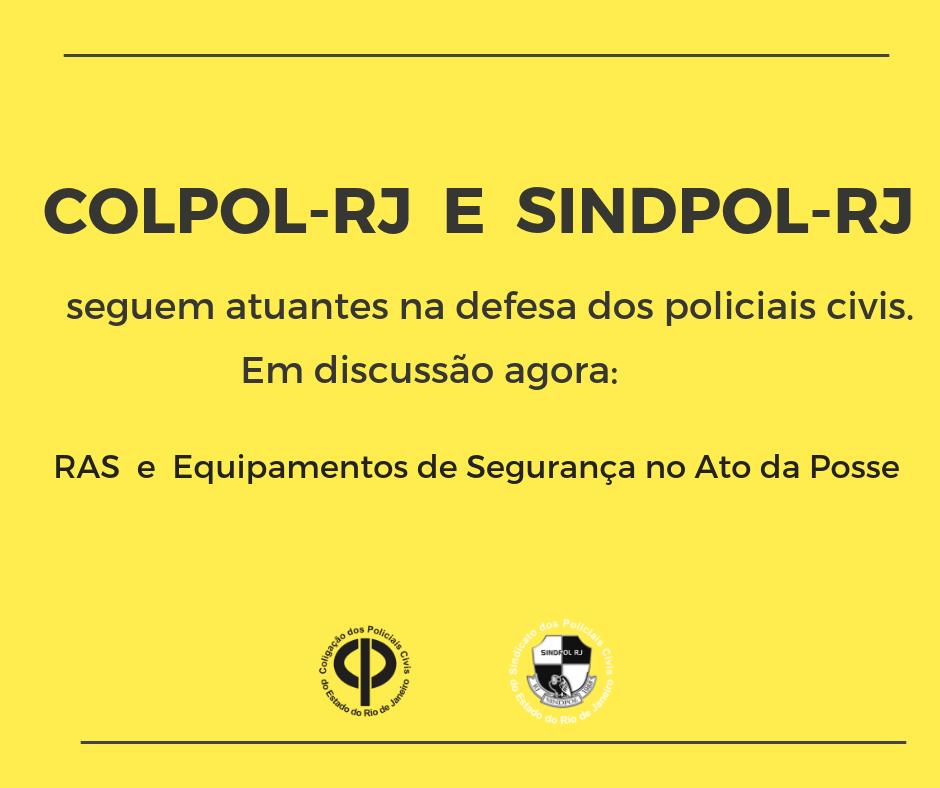 COLPOL-RJ e SINDPOL-RJ
