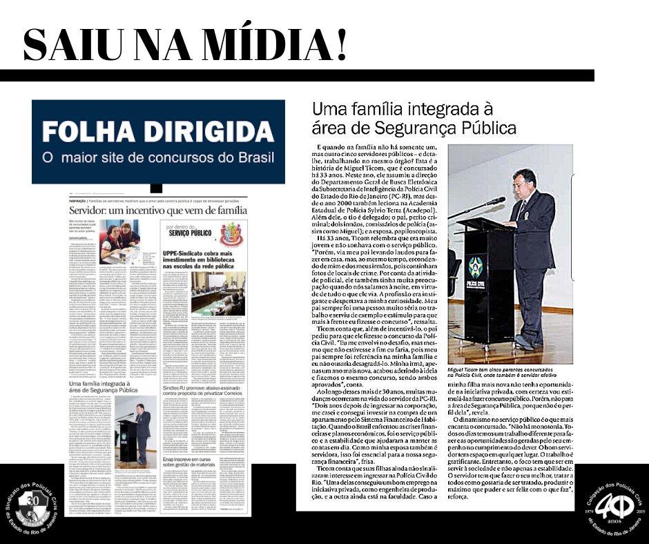 Matéria Ticom Folha dirigida